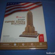 Puzzles: PUZZLE 3D EMPIRE STATE BUILDING 55 PIEZAS. Lote 182768943