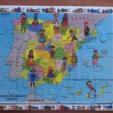 Puzzles: PUZZLE COMPLETO: TRAJES REGIONALES DE ESPAÑA. Lote 183211671