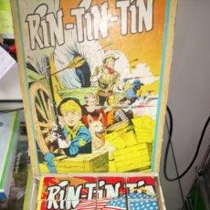 Puzzles: PRECIOSO ROMPECABEZAS DE RINTINTIN. EN CARTÓN. CAJA ORIGINAL. AÑOS 60.. Lote 183253188