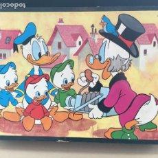 Puzzles: PUZLE (PUZZLE) WALT DISNEY 35 CUBOS - FABRICADO EN ESPAÑA, 1972 - COMPLETO. Lote 183578123