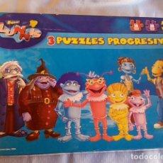 Puzzles: 3 PUZLES DE LOS LUNNIS. Lote 184262961