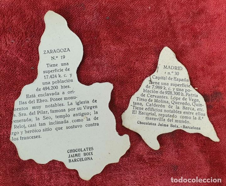 Puzzles: PAREJA DE PUZZLES CON 319 PIEZAS. CHOCOLATES JAIME BOIX. MEDITERRÁNEO. SIGLO XX. - Foto 3 - 184594033