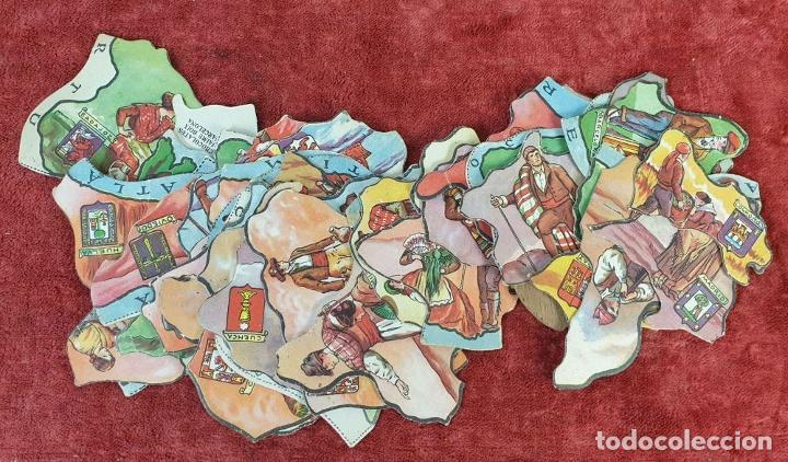 Puzzles: PAREJA DE PUZZLES CON 319 PIEZAS. CHOCOLATES JAIME BOIX. MEDITERRÁNEO. SIGLO XX. - Foto 6 - 184594033