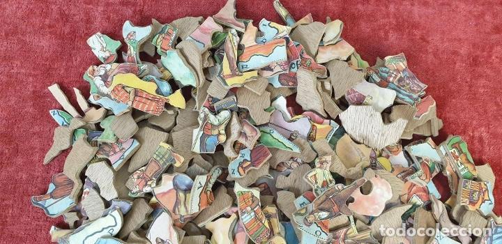 Puzzles: PAREJA DE PUZZLES CON 319 PIEZAS. CHOCOLATES JAIME BOIX. MEDITERRÁNEO. SIGLO XX. - Foto 9 - 184594033