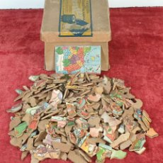 Puzzles: PAREJA DE PUZZLES CON 319 PIEZAS. CHOCOLATES JAIME BOIX. MEDITERRÁNEO. SIGLO XX. . Lote 184594033
