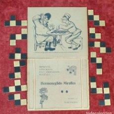 Puzzles: PUZZLE DE FIGURAS GEOMÉTRICAS. CARTONÉ. BIBLIOTECA E IMPRENTA MIRALLES. SIGLO XX.. Lote 184601902