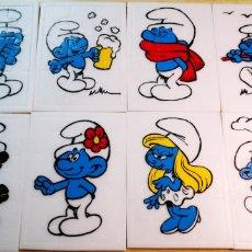 Puzzles: LOS PITUFOS 8 PUZZLES DE DIFERENTES MODELOS A ESTRENAR DE LOS AÑOS 90. Lote 185737715