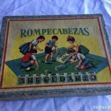 Puzzles: ROMPECABEZAS ABECEDARIO. Lote 186130728