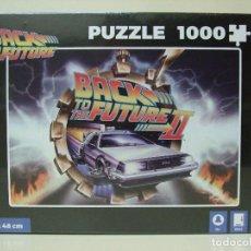 Puzzles: PUZZLE BACK TO THE FUTURE II 1000 PCS - COCHE DELOREAN PELÍCULA REGRESO AL FUTURO - SD TOYS PUZLE. Lote 186134905