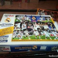 Puzzles: PUZZLE REAL MADRID-MARCA 2250 PIEZAS. EN BLISTER ORIGINAL MÁS CAJA. COMPLETO, TODAS LAS ENTREGAS, 25. Lote 186301633