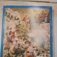 Puzzles: PUZZLE ANTIGUO . SIN USAR, TAPA UN POCO ROTA. Lote 186409042