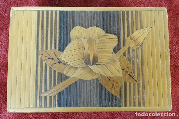 Puzzles: CAJA DE CAUDALES, CAJA Y 3 PUZZLES. MADERA TALLADA. SIGLO XIX-XX. - Foto 8 - 187151320