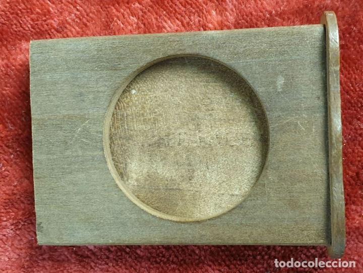 Puzzles: CAJA DE CAUDALES, CAJA Y 3 PUZZLES. MADERA TALLADA. SIGLO XIX-XX. - Foto 9 - 187151320