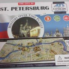 Puzzles: PUZZLE SAN PETERSBURGO 4D CITYSCAPE . SIN DESPRECINTAR 1245 PIEZAS. Lote 187288665