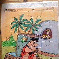 Puzzles: PUZZLE PEDRO PICAPIEDRA. JUEGOS EDUCATIVOS DINOVA. Lote 187302345
