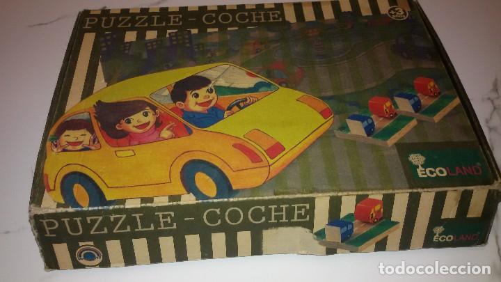PUZZOE-COCHE ECOLAND (Juguetes - Juegos - Puzles)