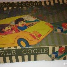 Puzzles: PUZZOE-COCHE ECOLAND. Lote 187380792