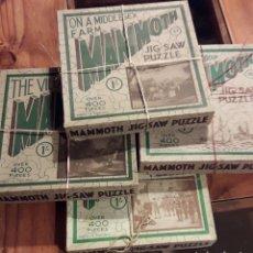 Puzzles: PUZZLES MAMMOTH AÑOS 30. Lote 188669245