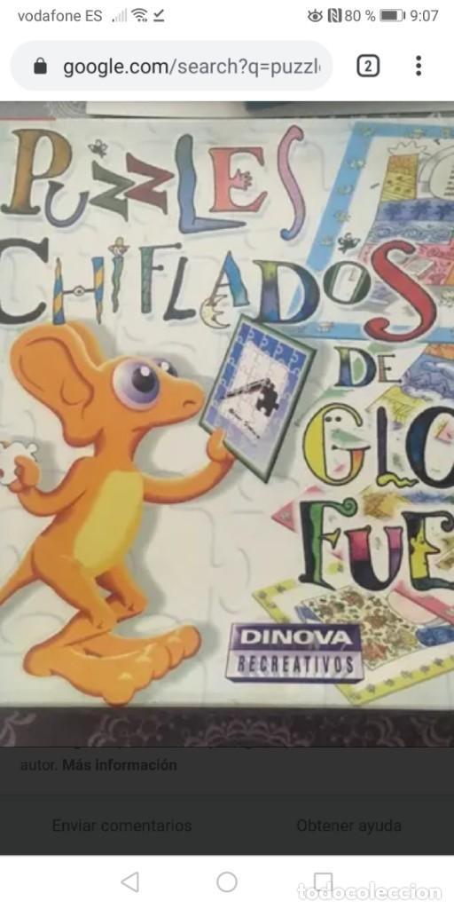 PUZZLES GLORIA FUERTES, PUZZLES CHIFLADOS/DOMINO/ADIV ESTÁ EDITADO POR SUSAETA EDICIONES (Juguetes - Juegos - Puzles)