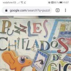 Puzzles: PUZZLES GLORIA FUERTES, PUZZLES CHIFLADOS/DOMINO/ADIV ESTÁ EDITADO POR SUSAETA EDICIONES. Lote 189134743