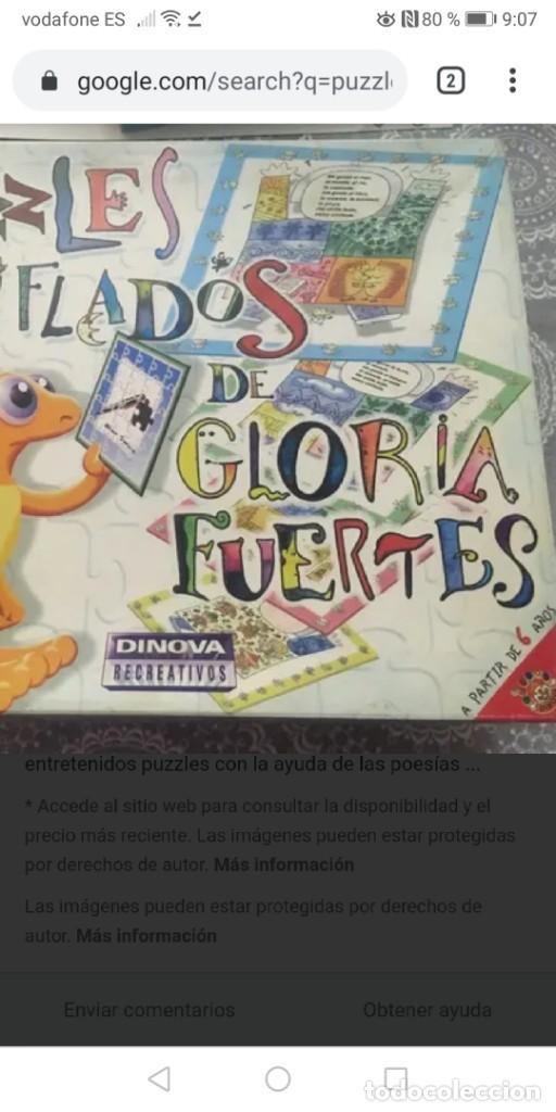 Puzzles: PUZZLES GLORIA FUERTES, puzzles CHIFLADOS/DOMINO/ADIV está editado por SUSAETA EDICIONES - Foto 2 - 189134743