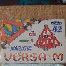 Puzzles: ANTIGUOS JUEGOS MAGNETICOS SUPERMAG VERSA 24 28 Y 42 PIEZAS. Lote 189392787