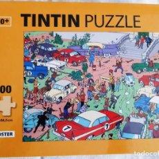 Puzzles: TINTIN - PUZZLE 1000 PIEZAS - RALLY EN MOULINSART. Lote 189788012