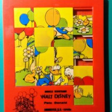Puzzles: PUZZLE LABERINTO. WALT DISNEY. PATO DONALD. 1980.. Lote 189903875