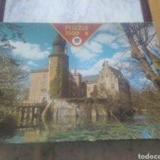 Puzzles: ANTIGUO PUZZLE GEMEN CASTLE DE DISET 1500 PIEZAS ( PIEZAS NUEVAS, PRECINTADAS).. Lote 190057462