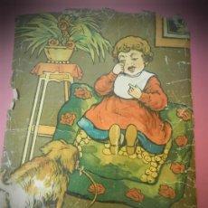 Puzzles: PUZZLE CUBOS DE CARTON PRINCIPIOS DE SIGLO XX. ROMPECABEZAS ANTIGUO. Lote 190158091