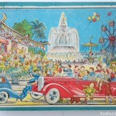 Puzzles: ANTIGUO PUZZLE ROMPECABEZAS DE 48 CUBOS 6 LÁMINAS - COMPLETO - AÑOS 20. Lote 190298373