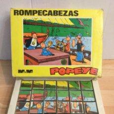 Puzzles: ROMPECABEZAS POPEYE. AÑOS 70. Lote 190370940