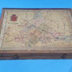 Puzzles: ANTIGUO MAPA PUZZLE CUBOS ESPAÑA , ZARAGOZA , SORIA, HUESCA , LOGROÑO Y TERUEL. EDITORIALES TEIDE. Lote 190420277
