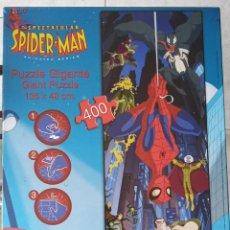 Puzzles: PUZZLE GIGANTE THE SPECTACULAR SPIDERMAN ANIMATED SERIES. NUEVO PRECINTADO 400 PIEZAS EDUCA AÑO 2010. Lote 190434661