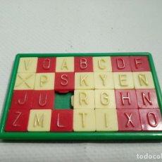 Puzzles: ANTIGUO ROMPECABEZAS PUZZLE DE LETRAS ABECEDARIO AÑOS 80. Lote 190524375