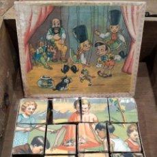 Puzzles: ANTIGUO PUZZLE ROMPECABEZAS CIRCA 1900. Lote 190688817