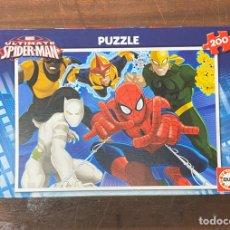 Puzzles: PUZZLE MARVEL ULTIMATE SPIDERMAN 200 PIEZAS INTOCABLES EL PUZZLE. Lote 190694976