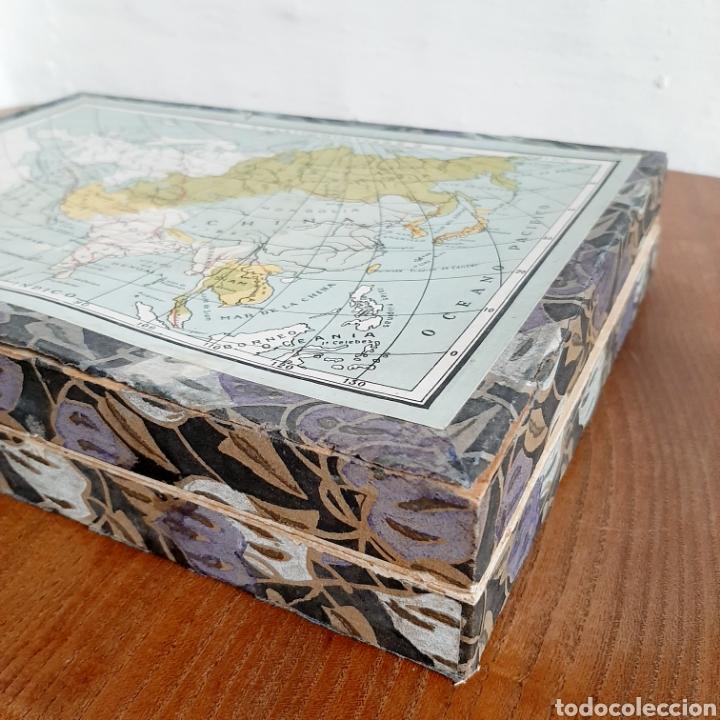 Puzzles: Antiguo rompecabezas en caja de madera - Foto 3 - 190909308