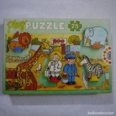 Puzzles: PLAY PUZZLE ZOO DE 25 PIEZAS - EDUCA - 1987 . Lote 191338923