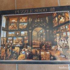 Puzzles: PUZZLE EDUCA 8.000 PIEZAS A.MAGNO VISITANDO APELLES (COLLECCIONISMO). Lote 191340035