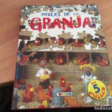 Puzzles: PUZZLES DE LA GRANJA 5 PUZLES (LB40). Lote 191402333