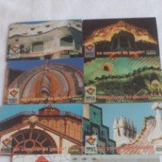 Puzzles: COLECCION PUZZLES.MAGNETICOS ARQUITECTURA GAUDI BARCELONA. AÑOS 80. A ESTRENAR. Lote 191420461