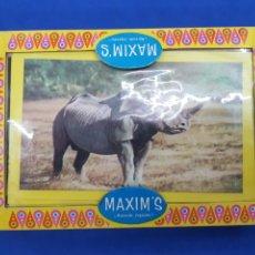 Puzzles: PUZZLE MAXIM'S , AÑOS 1970. Lote 191826921
