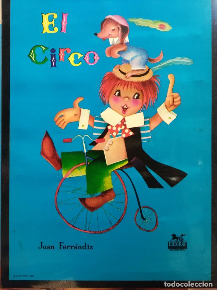 EL CIRCO. ROMPECABEZAS Nº 5. JUAN FERRANDIZ. EDIGRAF (Juguetes - Juegos - Puzles)