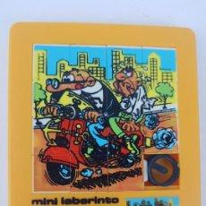 Puzzles: PUZZLE MINI LABERINTO PUZLE AÑOS 80 JUEDSA MORTADELO Y FILEMON. Lote 192290532