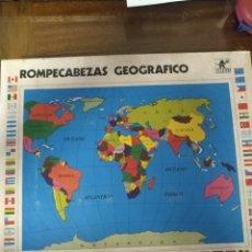 Puzzles: ROMPECABEZAS GEOGRAFICO MARCA BORRAS. Lote 192436060