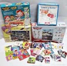 Puzzles: GRAN LOTE DE PUZZLES,NAIPE,CROMOS, INCOMPLETOS.. Lote 192901421