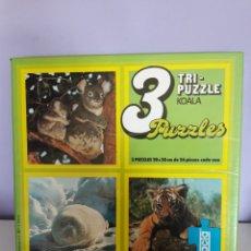 Puzzles: PUZZLE DIDACTA. 3 X 56 CADA UNO.. Lote 192987292