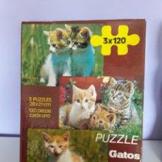 Puzzles: PUZZLES DIDACTA. 3 X 120 CADA UNO. Lote 192987902