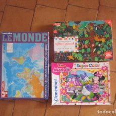 Puzzles: 3 PUZZLES. Lote 193568511